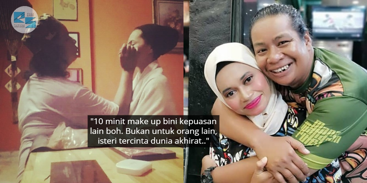 """""""Rutin Setiap Pagiku"""" – Makeup Kan Isteri Pergi Kerja, Man Dipuji Suami Contoh"""