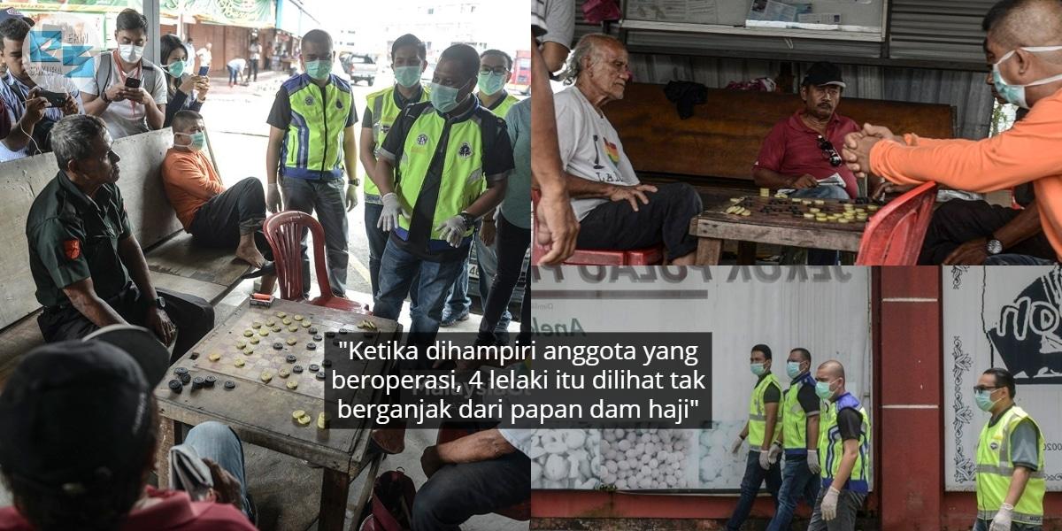 Selamba Main Dam Haji Depan Mata Polis, Masih Ramai Ingkar Perintah Hari Ke-2