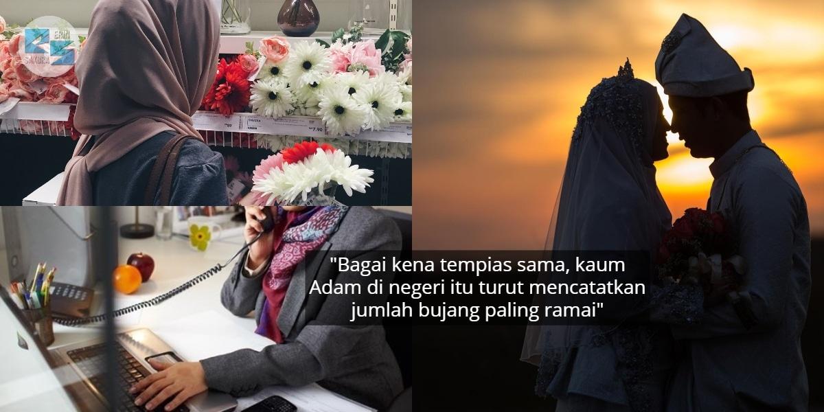 Mampu Sara Diri, Kajian Dedah Lebih Sejuta Wanita Selangor Bujang Di Usia 30-an