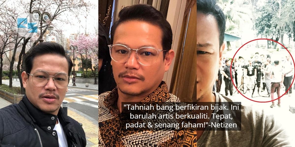 Seru Penggiat Seni Tolong Industri Sendiri, Netizen Puji Mentaliti Que Haidar