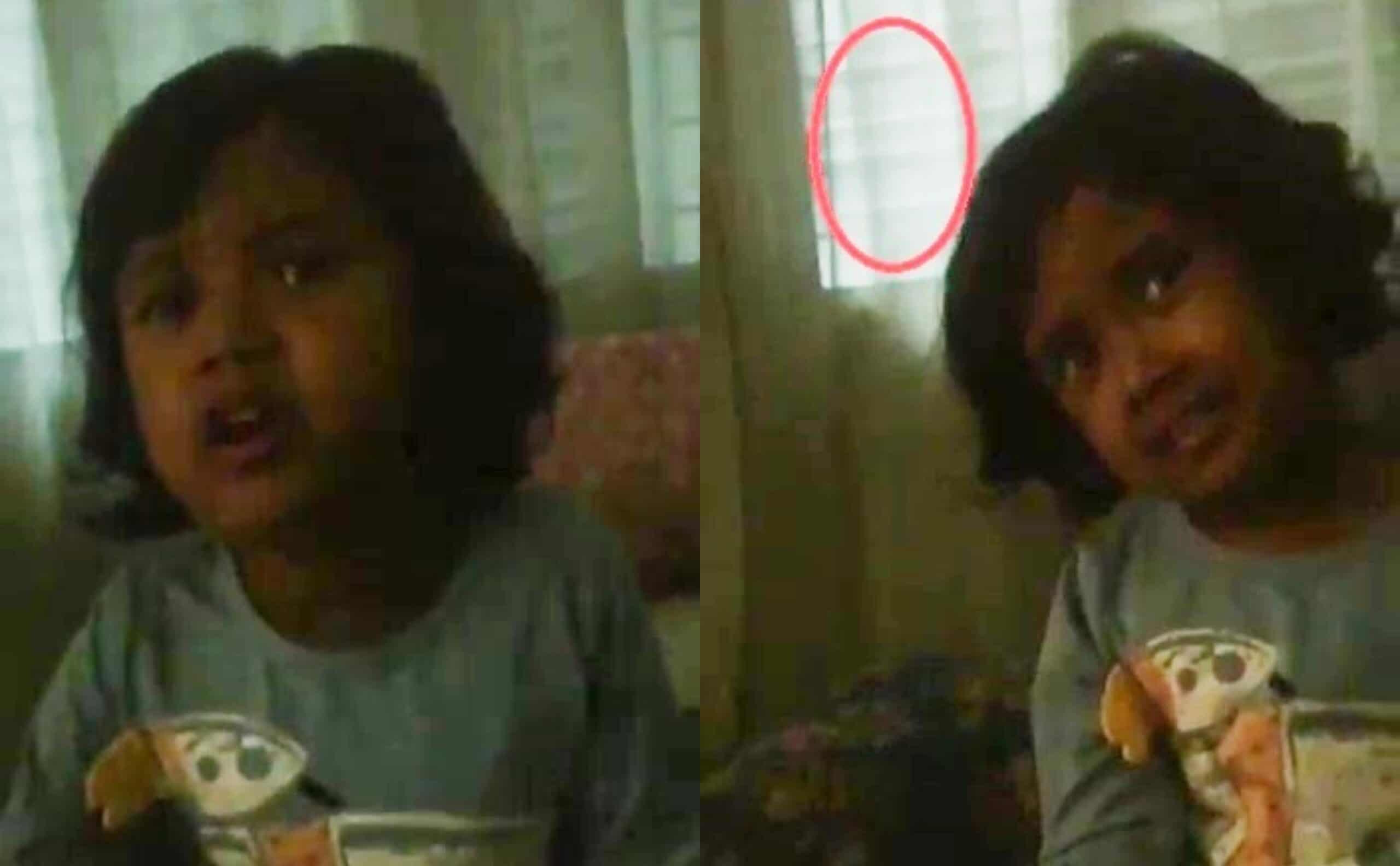"""[VIDEO] """"Pergi Sanalah""""- Ditolak Entiti Bertanduk, Budak Ini Jadi Makin Pendiam"""