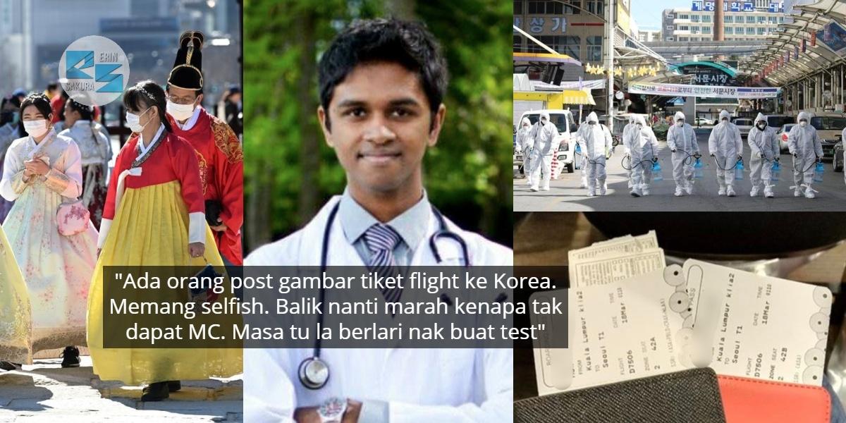 COVID-19 Malaysia Menuju 1000 Case, Doktor Kecewa Masih Ramai 'Gian' Nak Travel