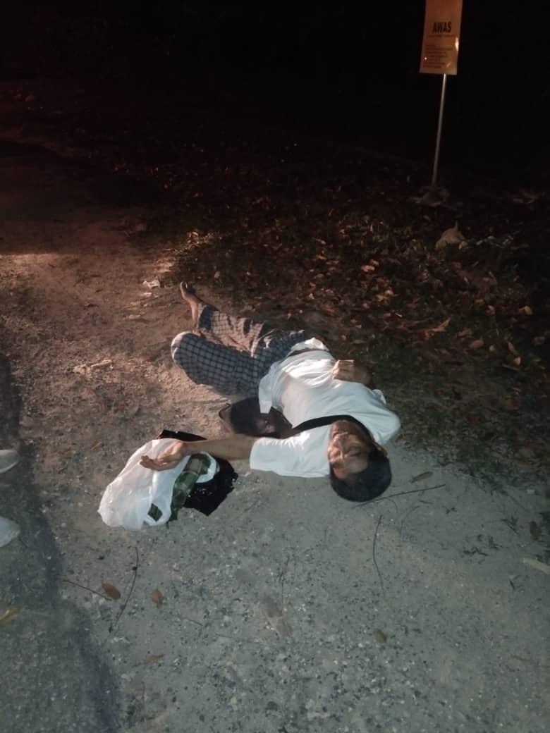 Tergamak 'Buang' Ayah Sendiri Di Jalan Sunyi, Beri Ubat Tidur Sebelum Tinggal