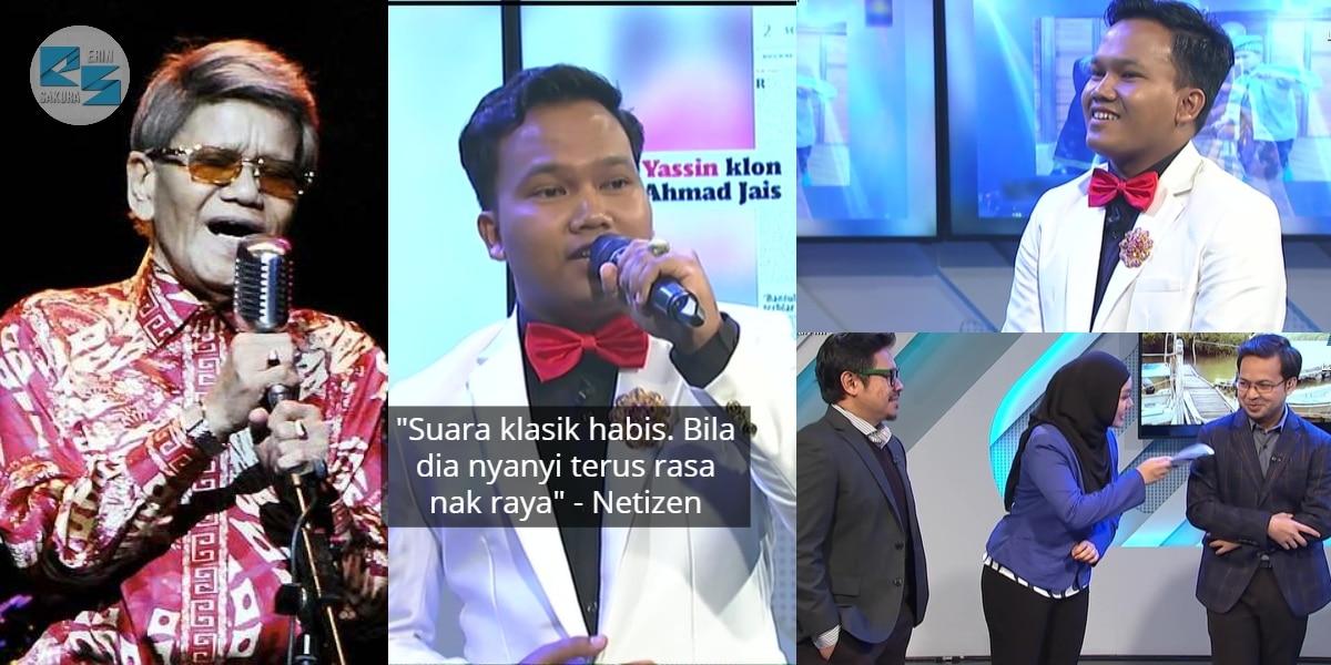 [VIDEO] Suara 'Sebijik' Ahmad Jais, Hos TV3 Pun Siap Request Dendang Lagu Raya