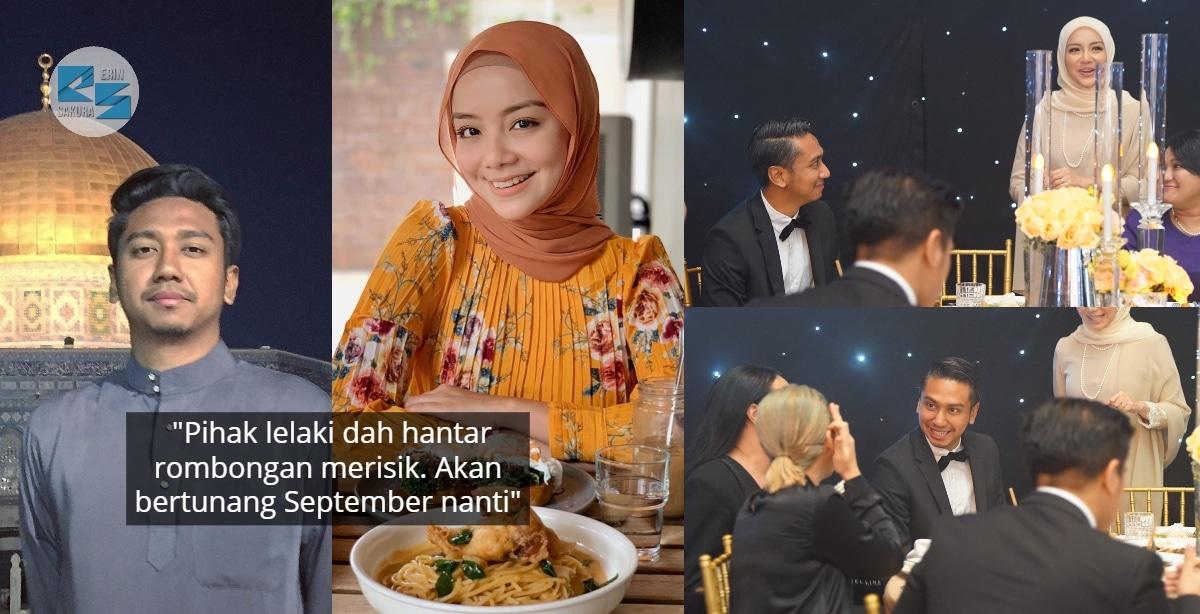 Pernah Putus Masa Sambung Study, Mira Filzah & 'Abang Arkitek' Kahwin Bulan 10