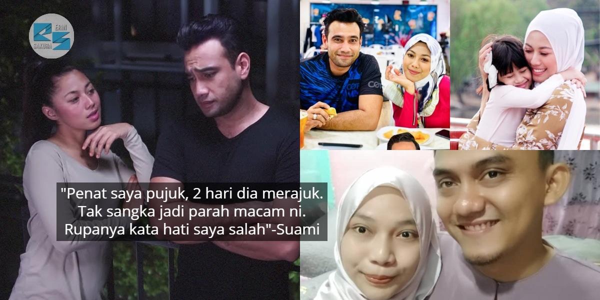 Isteri Sentap Sebab Tak Dapat Tonton Drama, Hebatnya Penangan 'Maaf Tak Indah'
