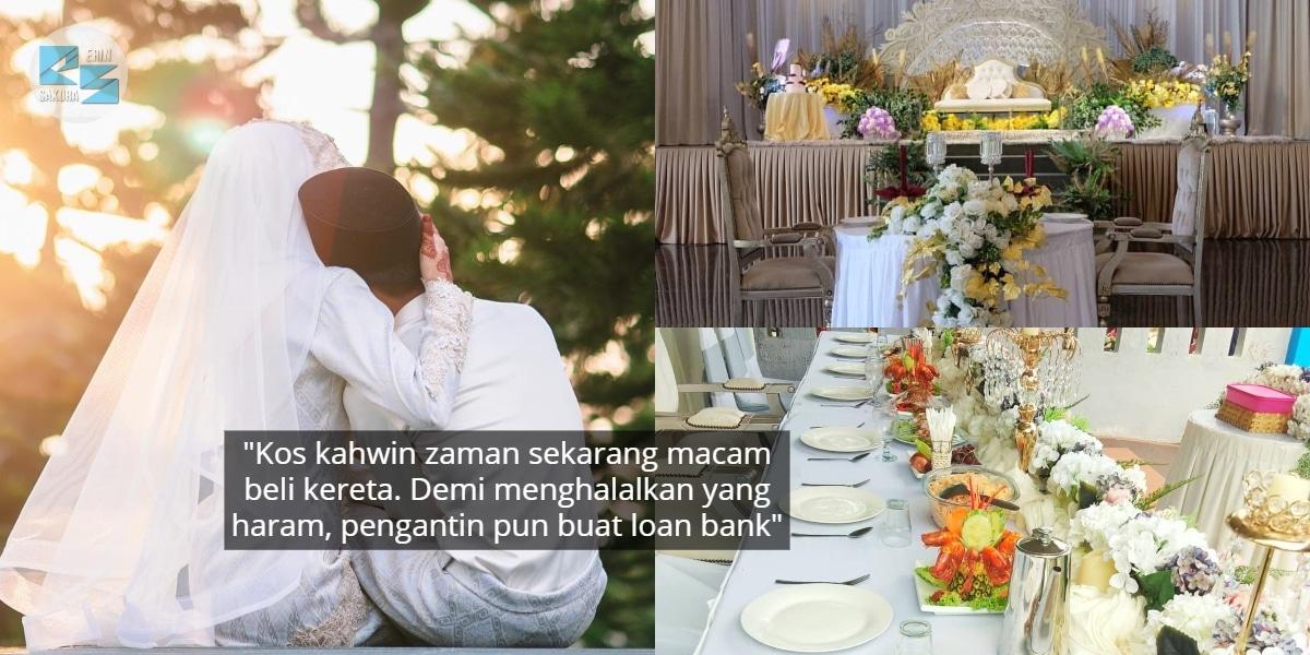 """""""Majlis Sehari, Tapi Hutang Bertahun"""" – Kos Kahwin Punca Bujang Senja Meningkat"""