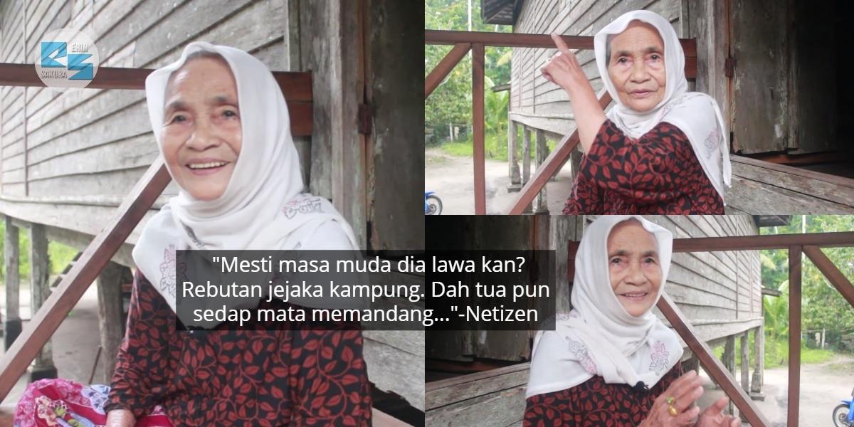 Nenek 90 Tahun Hebat Cakap 'Dialek Istimewa', Tapi Keanggunannya Pula Dipuji