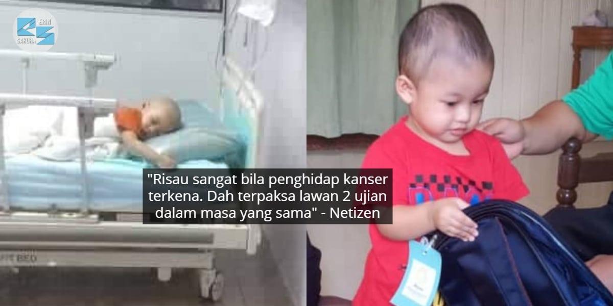 Besarnya Dugaan, Bayi Hidap Kanser Leukemia Kini Sah Positif COVID-19 Pula