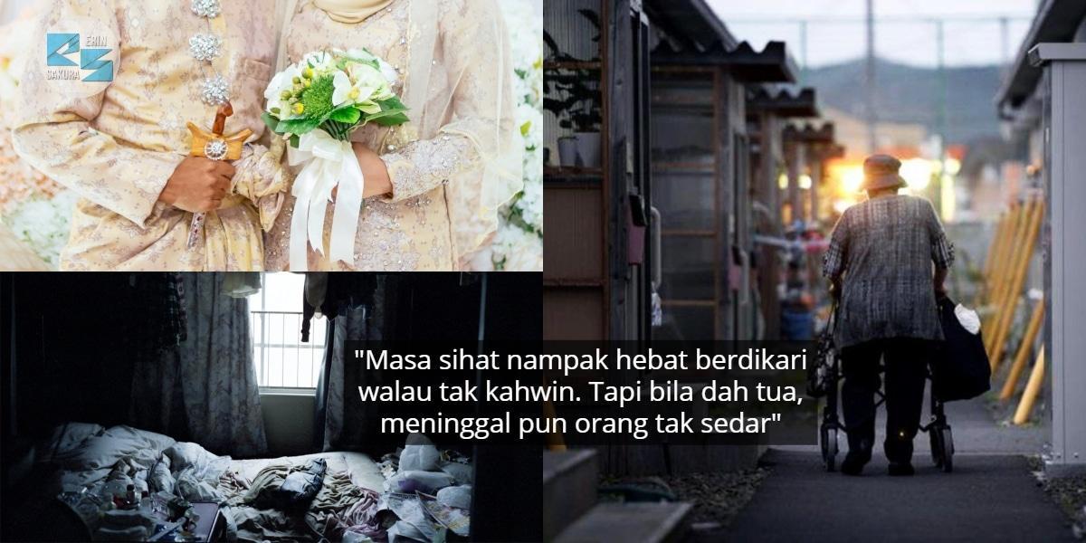 Sepi Hidup Single Sampai Ke Tua, Inilah Hakikat 'Kodokushi' Yang Ramai Tak Tahu
