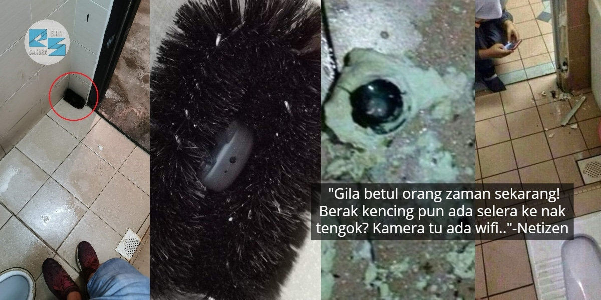 Sorok 'Spy Camera' Dalam Berus, Wanita Hati-Hati Perangkap Terbaru Tandas Awam