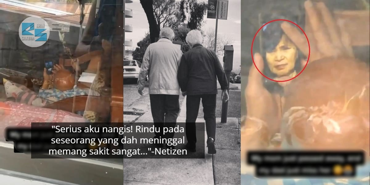 [VIDEO] Rindu Isteri Yang Dah Tiada, Anak Rakam Ayah Terbaring Tenung Gambar