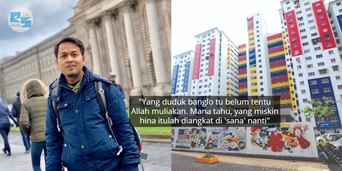 """""""Jangan Pandang Rendah Penduduk Setinggan Sebagai Low Class"""" – Fedtri Yahya"""