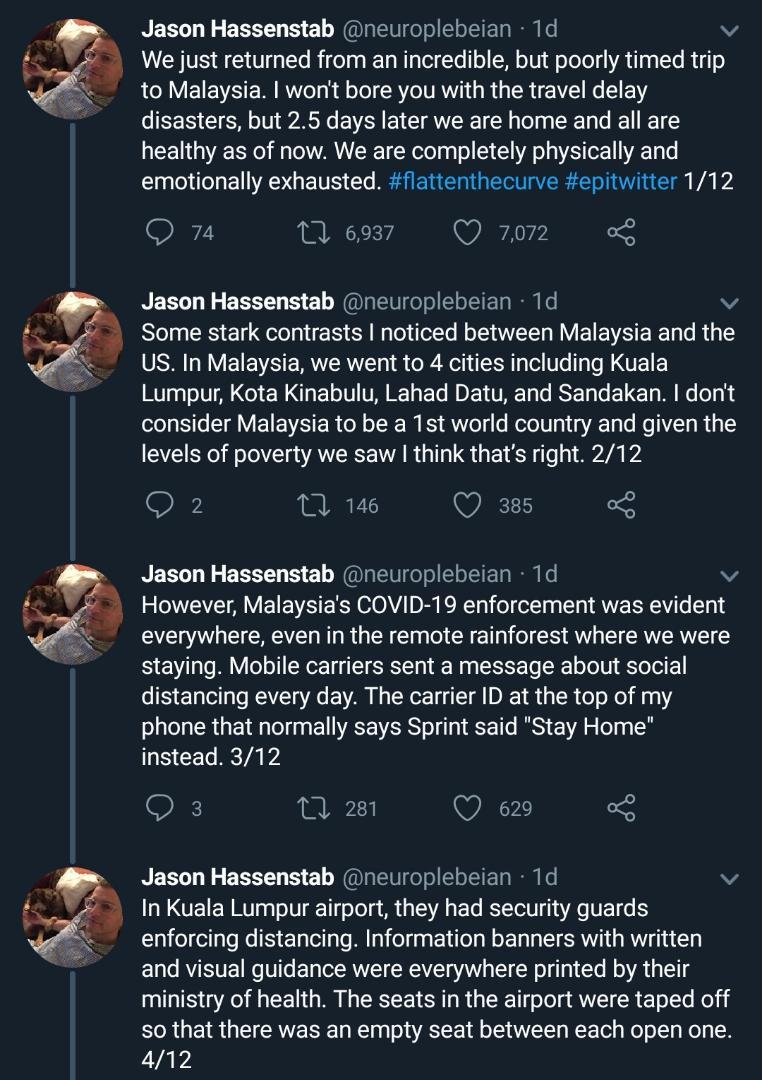 Ada Netizen Pertikai Usaha KKM, Doktor US Puji Usaha Malaysia Handle COVID-19