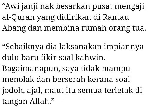 """Syifa Ada 2 Kali Datang Rumah, Tapi.."" – Ibu Ulas Hajat Safawi Mahu Bernikah"
