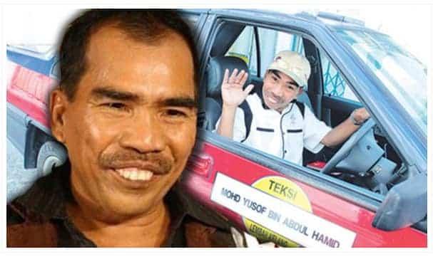 Berkat Driver Teksi Yang Rajin Sedekah, Mr Os Berjaya Besarkan Anak Jadi Doktor