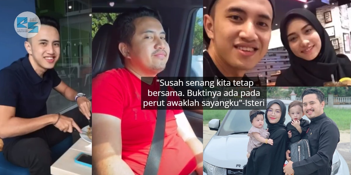 [VIDEO] Suami Makin 'Membulat' Lepas Kahwin, Bukti Bahagia Isteri Tetap Sayang