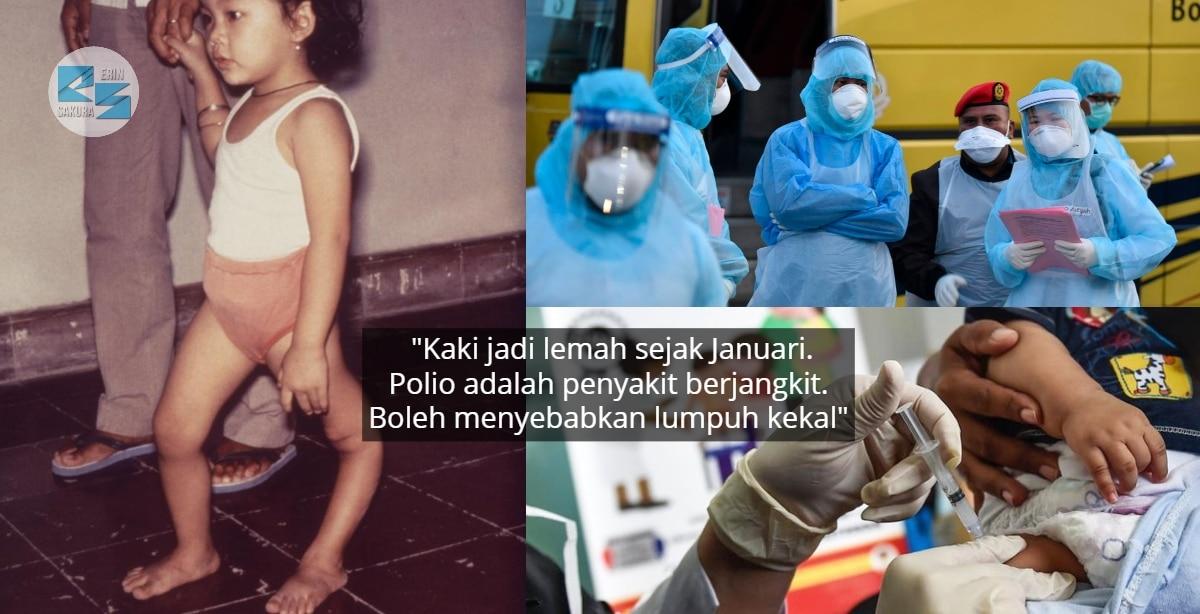 Masih Belum Habis Panik Koronavirus, Sabah Pula Catatkan Wabak Polio Terbaru