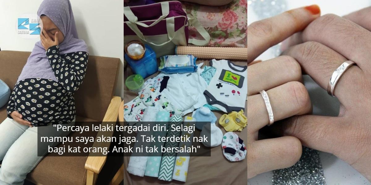 Hamil 7 Bulan Barang Baby Tak Beli Lagi, Gadis Merana 'Dibaham' Encik Tunang