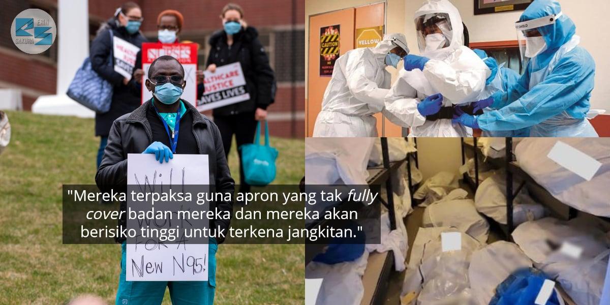 Frontliners Malaysia Dilayan First Class, Negara Lain Nurse Pun Buat Protes