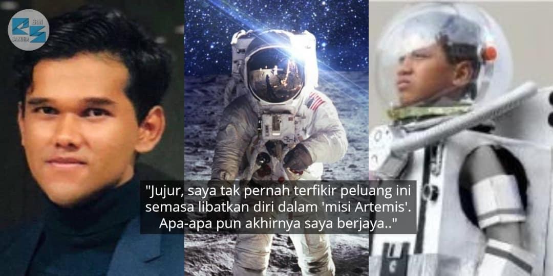 Reka Bentuk Sut Angkasa Lepas, Pemuda Tak Sangka Terima Biasiswa Dari NASA..