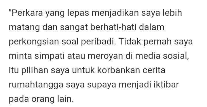 Dicaci Kerana Rujuk Semula Dengan Bekas Suami, Bella Astillah Maafkan Netizen