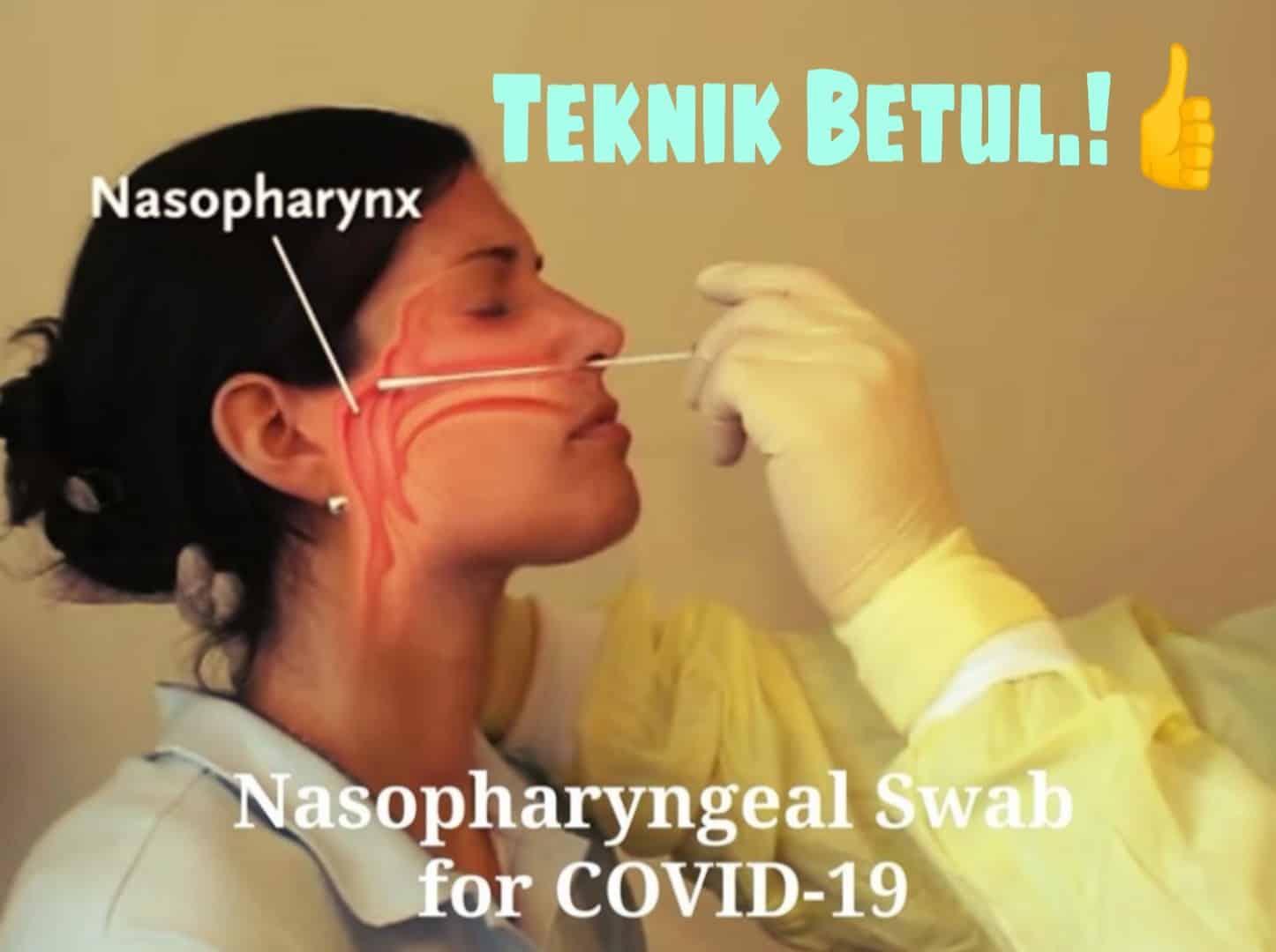 Jangan Jolok Sebarangan, Doktor ENT Dedah Kesan Ambil Sampel COVID-19 Tak Betul