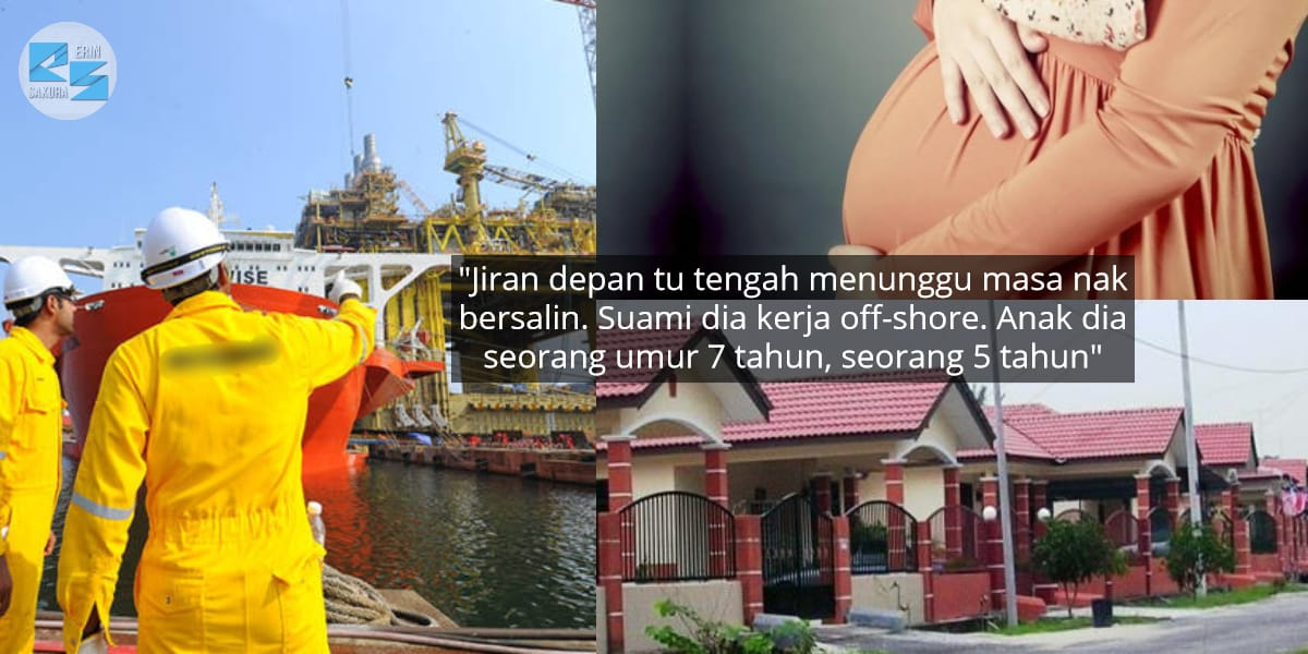 Suami Di Off-Shore Tak Dapat Balik, Minta Jiran Rahsiakan Daripada Bini Sebab..