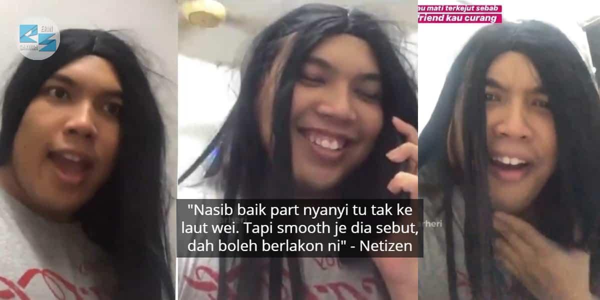 Feeling Lebih Acting Ala-Ala Kdrama Padahal Merapu, Remaja Ini Buat Ramai Dekah