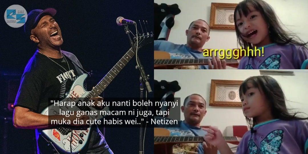 [VIDEO] Si Cilik Penuh Emosi 'Cover' Lagu Rock, Tak Sangka Dapat Pujian Dari..