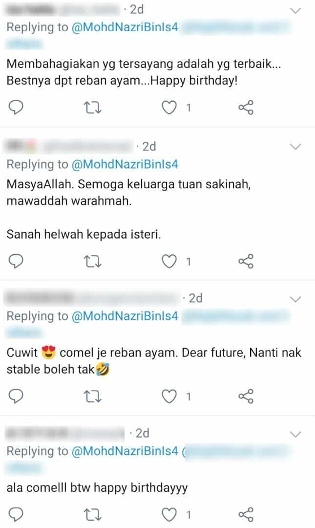 Bahagia Jalani Hidup Di Kampung, Suami Hadiahkan Isteri Reban Ayam Sempena..