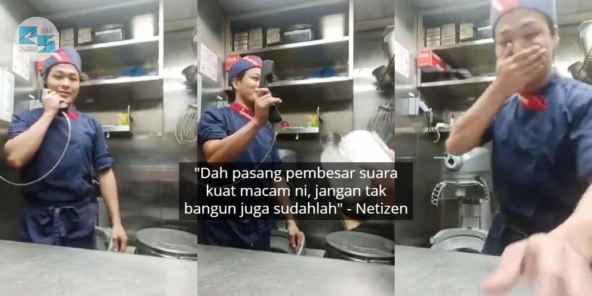 """""""Sendiri Tak Dapat Tahan Gelak"""" – Cara Chef Kejut Sahur Memang Win Habis"""