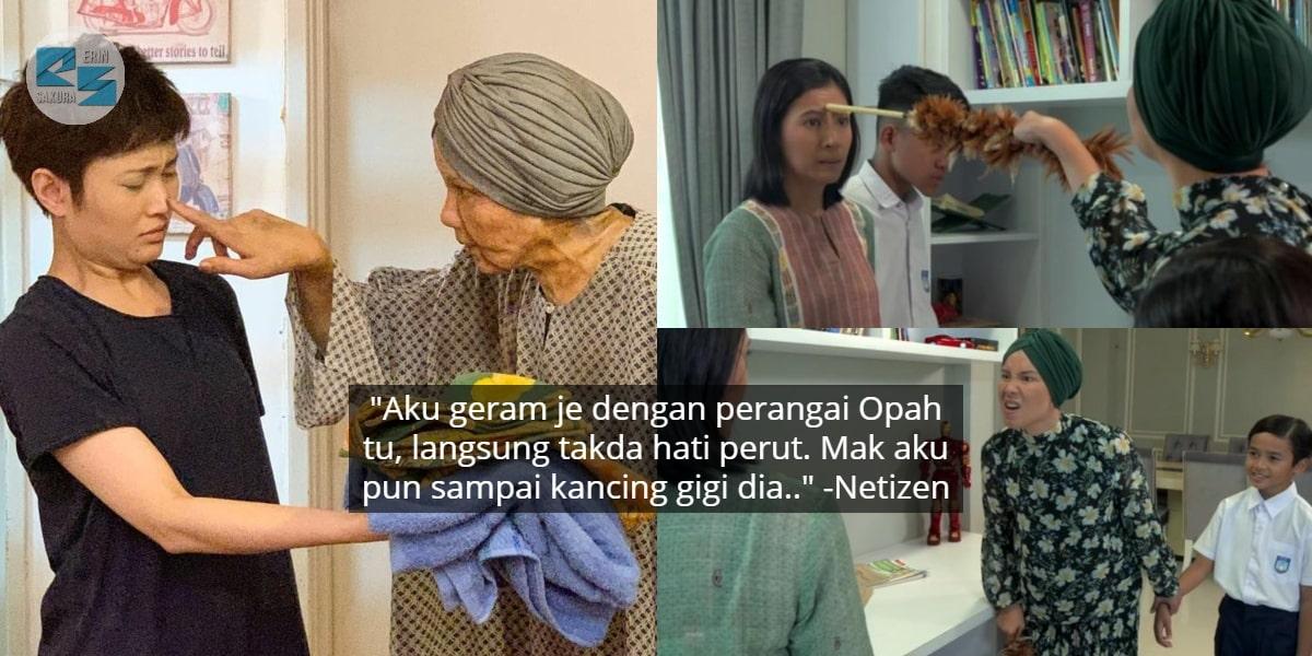 """[VIDEO] """"Rasa Nak Tampar Opah"""" – Drama 'Bukan Gadis Biasa' Buat Ramai Menyirap"""