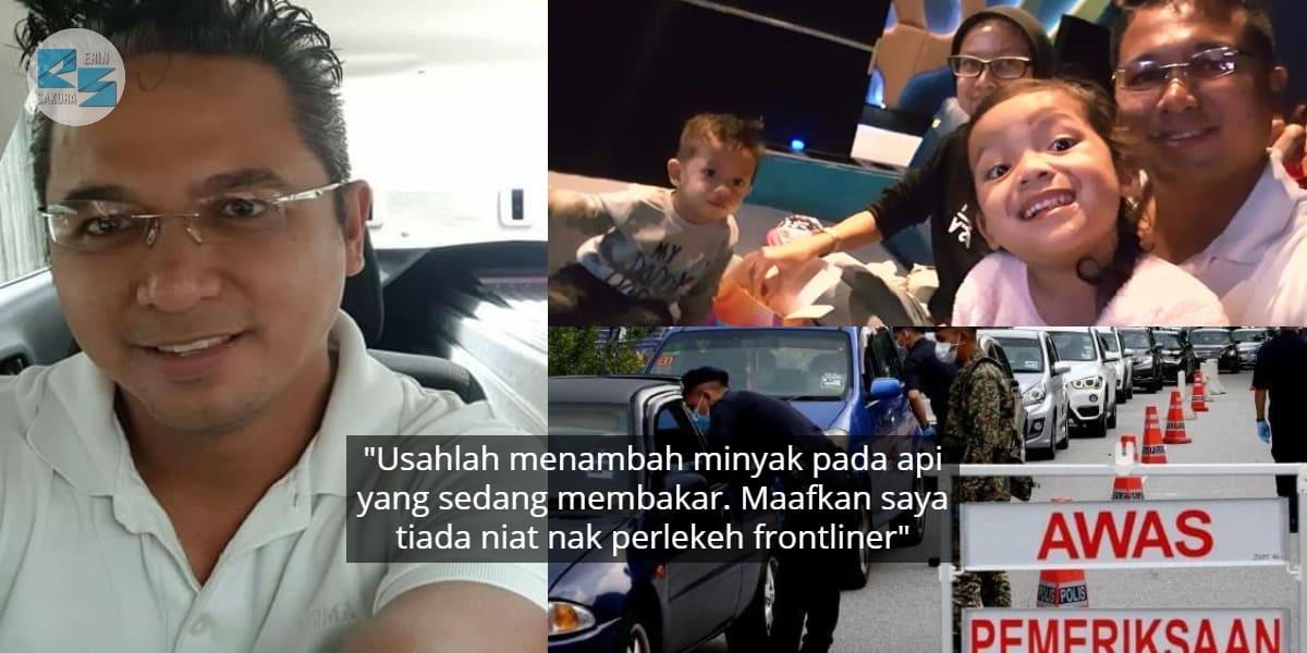Gurau Ingkar PKP, Lelaki Angkut 1 Keluarga Ke Klinik Kesal Jadi Bahan Kutukan
