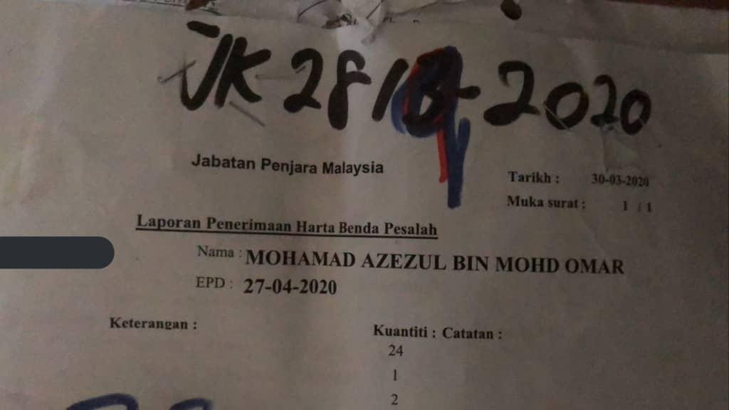 Derita Dipenjara Ingkar PKP, Pemuda Bongkar Hakikat Ngeri Meringkuk Dalam Lokap