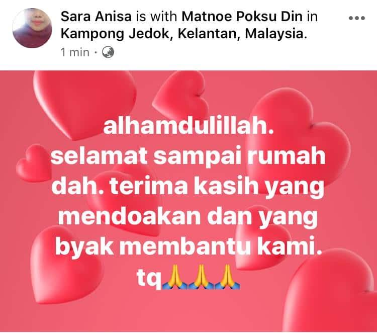 Nekad Jalan Kaki Balik Kelantan, Bini Kantoi Dapat Tahu Lepas Tengok Live Video