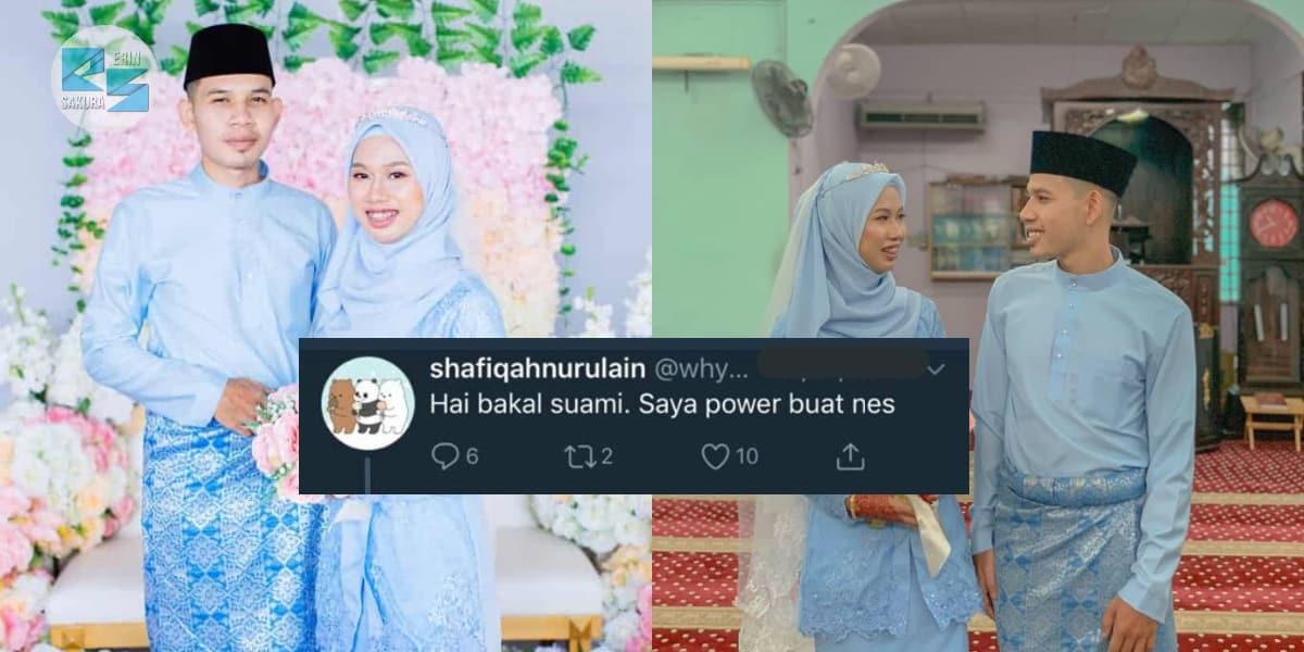 """""""Hai Bakal Suami, Saya Power Buat Nes""""-Tak Sangka Yang Komen Tu Jadi Suami AKU"""