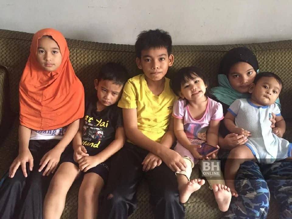 Suami Ajal Lepas Hidap COVID-19, Balu & 6 Anak Kini Buntu Fikir Masa Hadapan