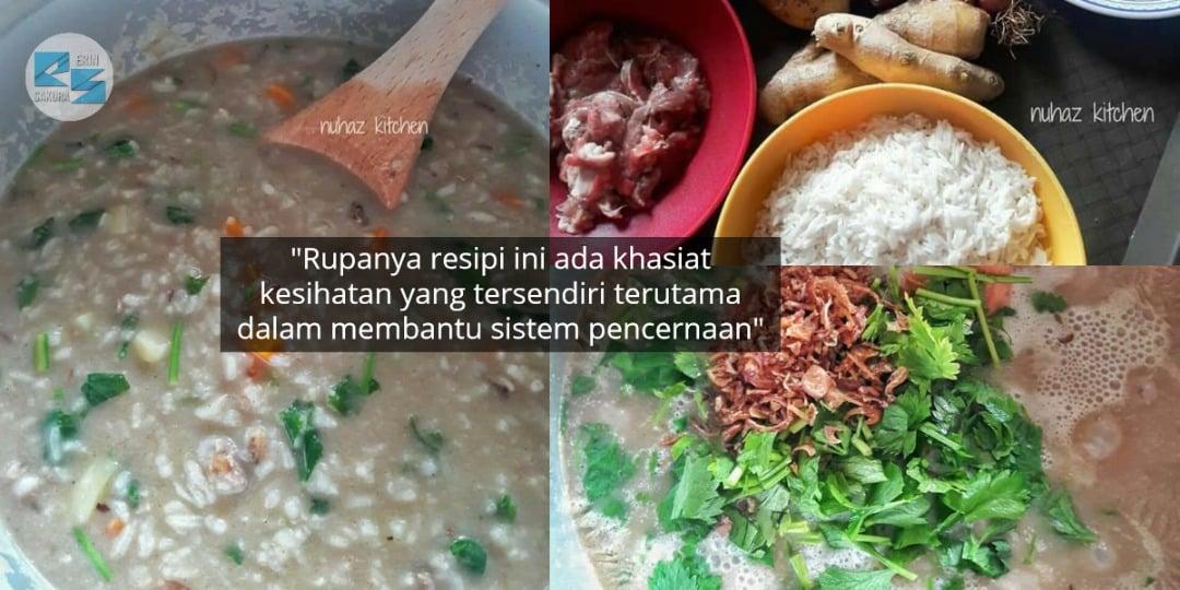Tak Payah Guna Dapur Gas, Ini Dia Resipi Mudah Bubur Lambuk Style 'Rice Cooker'