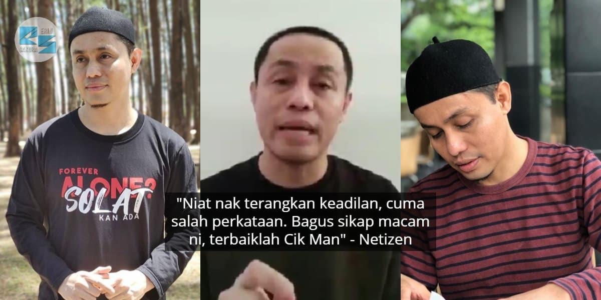 [VIDEO] Salah Cakap Masa Dakwah Isu Poligami, Netizen Puji PU Azman Minta Maaf