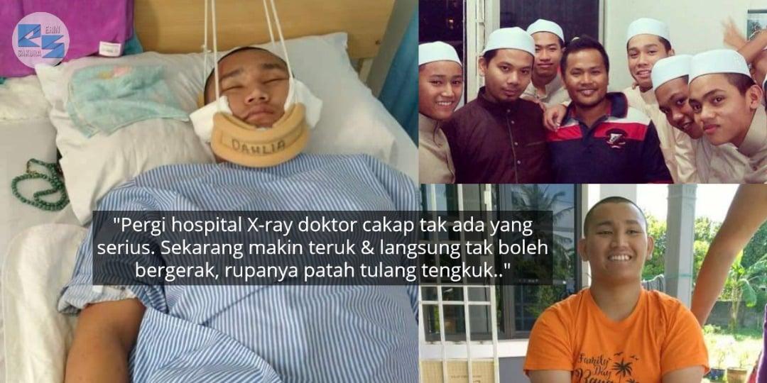 Anak Tahfiz Terbaring Kaku, Keluarga Buntu Fikirkan Kos Operation Hampir RM20K