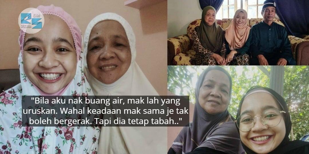 """8 Tahun Lepas Dua-Dua Tak Mampu Berjalan.."" – Ibu Cekal Walau Ngesot Demi Anak"