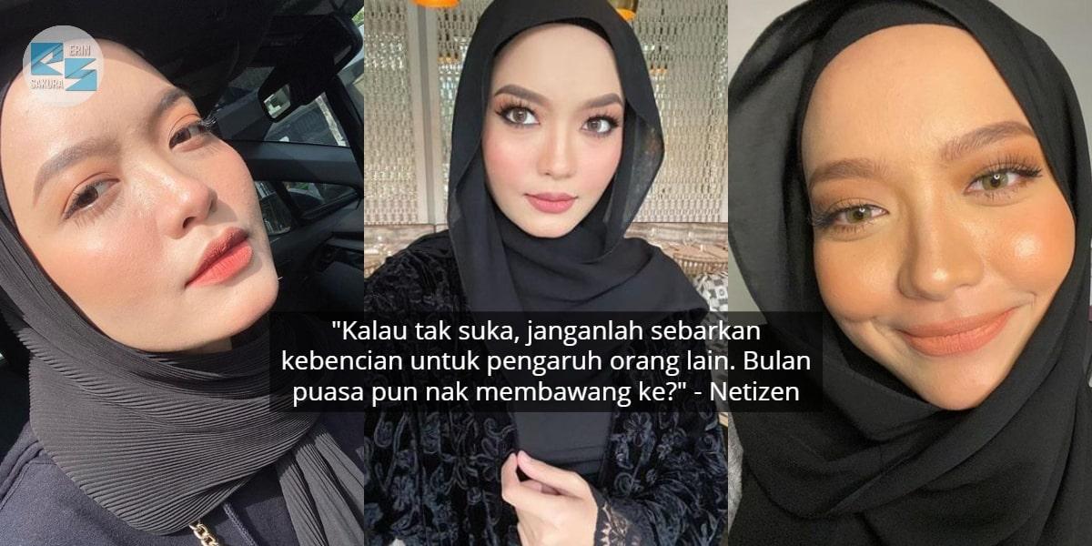 [FOTO] Solekan Dikatakan Tebal Macam 'Bumi Jerebu', Peminat Backup Syifa Melvin