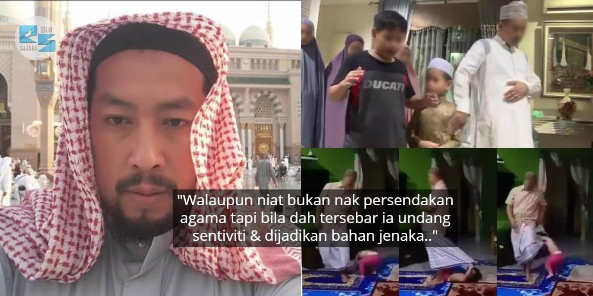 Konon Lawak Viralkan Video Batal Solat, Rupanya Boleh Mempersendakan Agama..