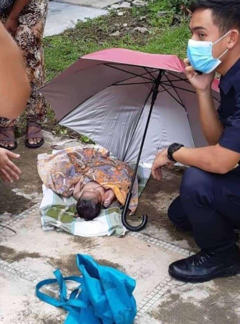 Timbul Rasa Bersalah Lepas 'Campak' Bayi, Kini Teman Lelaki Datang Serah Diri..
