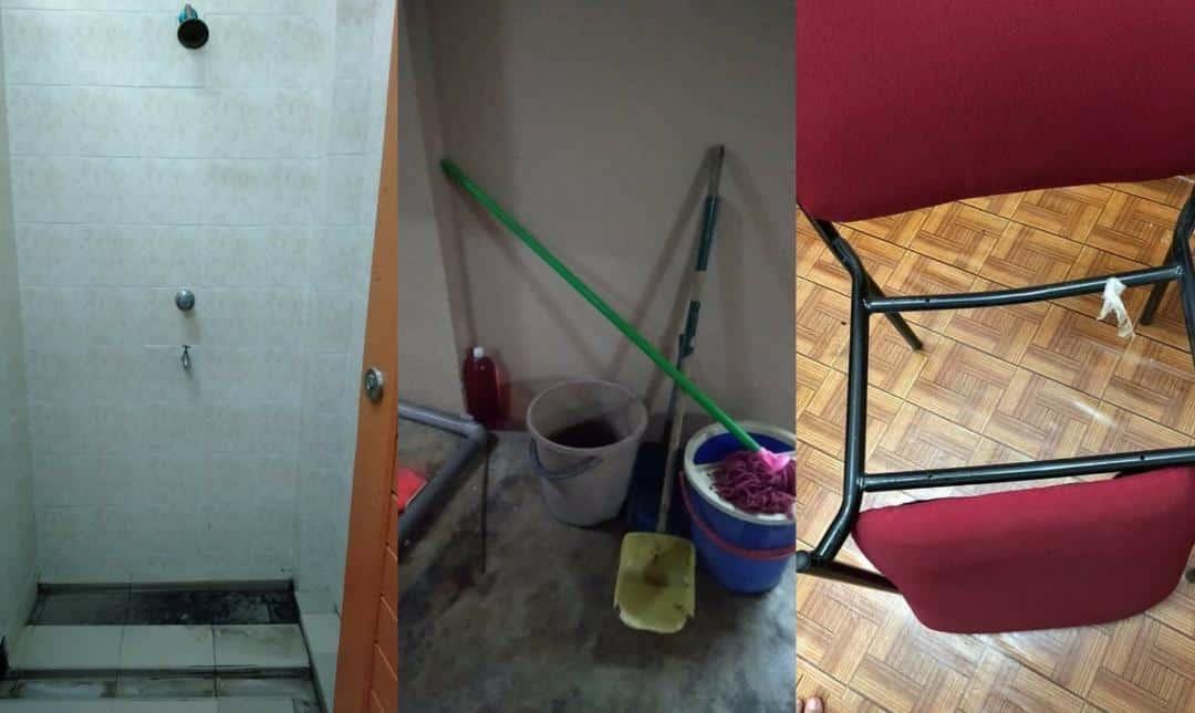 [FOTO] Tandas Berlumut Lendir, Pelajar Kecewa Kenang Situasi Pusat Kuarantin..