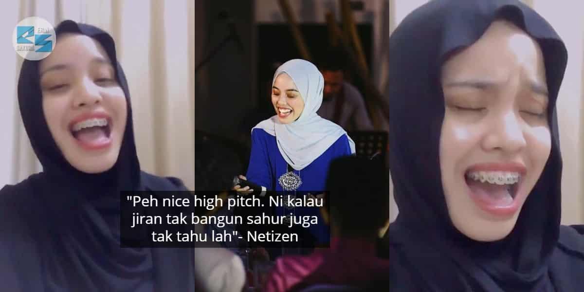 [VIDEO] Kalau Dengar Boleh Terus Bangun Sahur, Pitching Gadis Ini 'Pecah' Habis