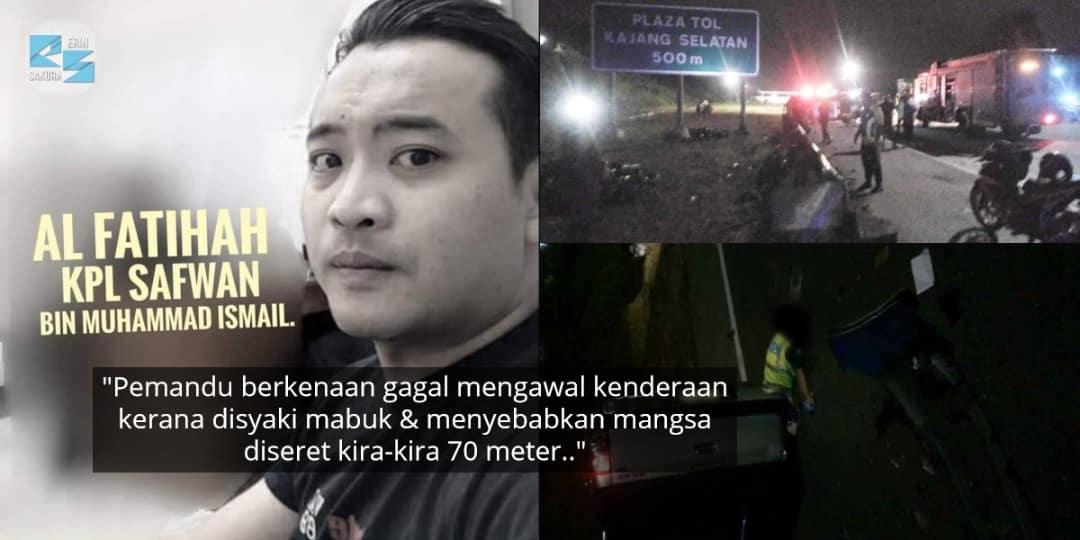 Anggota Polis 'Ajal' Ketika Kawal Roadblock PKP, Pemandu Didakwa Hilang Kawalan