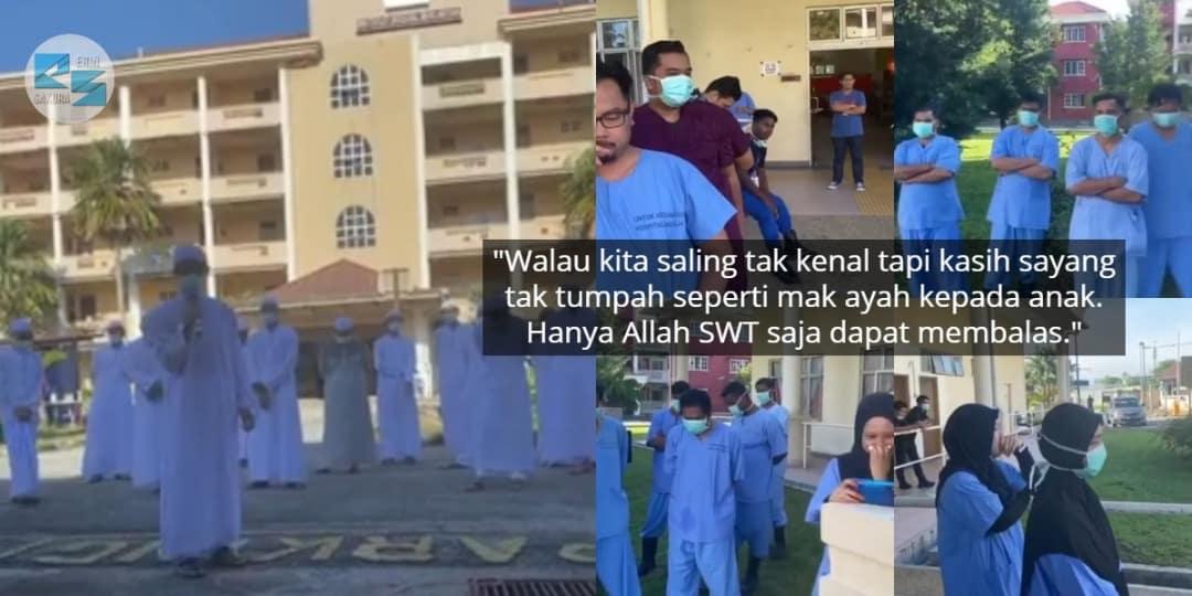 Pernah Dicaci Masa COVID-19, Frontliner Sebak Lepaskan Kluster Tabligh Pulang..