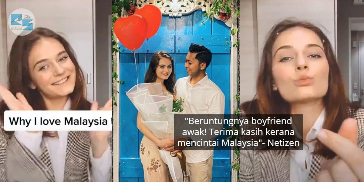 Bahagia Couple Dengan Lelaki Melayu, Gadis 'Omputih' Dedah Sebab Suka Malaysia